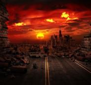 عاصفة مغناطيسية  تضرب الارض