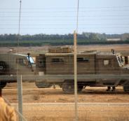 حوامة تخترق الحدود مع غزة