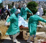 تسجيل حالة وفاة في فلسطين