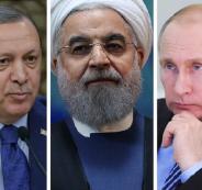 التحالف التركي الروسي الايراني