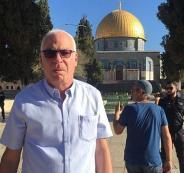 وزير الزراعة الاسرائيلي في الأقصى