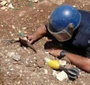 شرطة طولكرم تتلف جسما مشبوها من مخلفات الاحتلال