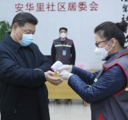 الرئيس الصيني وكورونا