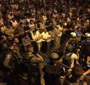 21 اصابة خلال مواجهات باب الأسباط بالقدس المحتلة