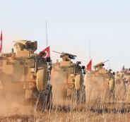 عملية عسكرية تركية في شمال سوريا