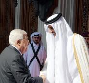 ابو مازن وامير قطر