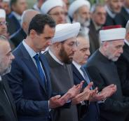 بشار الأسد والمولد النبوي الشريف