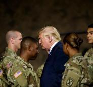 الجيش الامريكي وترامب وايران