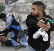 اصابة جندي اسرائيلي في مخيم الامعري