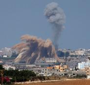 الهدوء في غزة