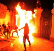 مواجهات في بغداد مع الامن ومتظاهرين