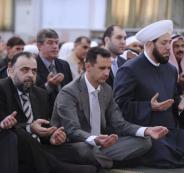 بشار الأسد وصلاة الاستسقاء