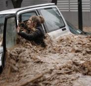 فيضانات في اليونان