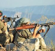 الاكراد والجيش التركي