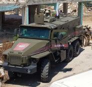 الشرطة العسكرية الروسية في منبج