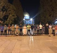 الاعتكاف في المسجد الأقصى المبارك