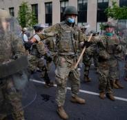 الجيش الامريكي في واشنطن