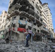 قطاع غزة والمباني السكنية