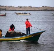 مساحة الصيد في غزة