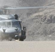 سقوط مروحية تتبع للجيش الامريكي في العراق