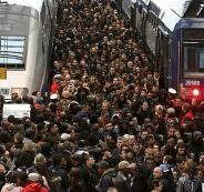اضراب عمال النقل في فرنسا