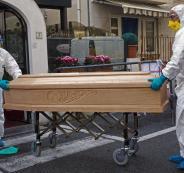وفيات في ايطاليا بسبب كورونا