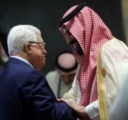 محمد بن سلمان والرئيس عباس