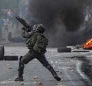 مواجهات بالضفة وغزة