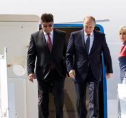زيارة بوتين الى السعودية والامارات