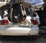 الشرطة تتلف 133 مركبة غير قانونية في جنين