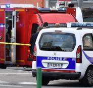هجوم طعن في فرنسا