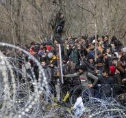 الحدود التركية اليونانية