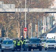 مقتل متظاهرة فرنسية