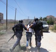 القبض على شقيقن في نابلس