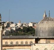 جسر للمشاه جنوب المسجد الأقصى