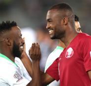 خسارة المنتخب السعودي امام قطر