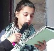ابنة الاسير عبدالله البرغوثي