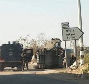 اصابة جنود اسرائيلين في قلقيلية