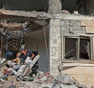 قصف يستهدف بئر السبع