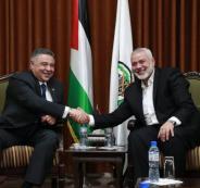الوفد الامني المصري في غزة