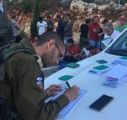 اعتقال عمال فلسطينيين بالنقب