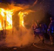 وفاة مسن مقعد بحريق داخل منزله في نابلس