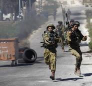 الجيش الاسرائيلي ينصب خياما شمال رام الله