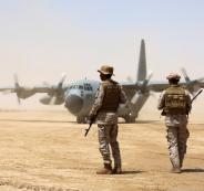 القوات الامريكية في السعودية