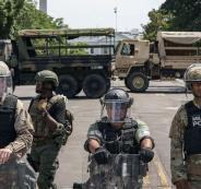 القوات الامنية في واشنطن