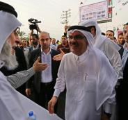 السفير القطري يصل الليلة قطاع غزة لمتابعة سير المشاريع