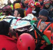 ضحايا زلزال تركيا
