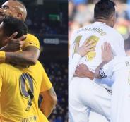 ريال مدريد وبرشلونةة