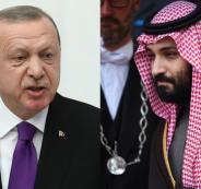 اردوغان وبن سلمان وخاشقجي