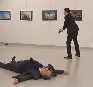 صورة قتل السفير الروسي
